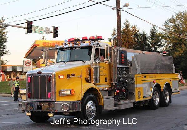 Hereford, MD Volunteer Fire Company Tanker #446