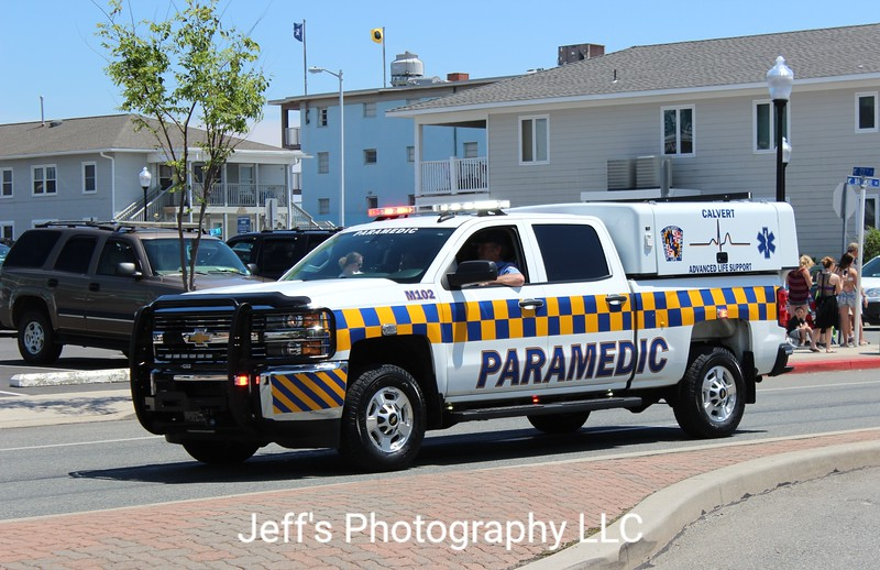 Calvert County, MD Fire-Rescue-EMS EMS Vehicle #M102