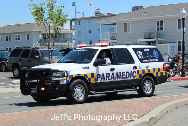 Calvert County, MD Fire-Rescue-EMS EMS Vehicle #M101