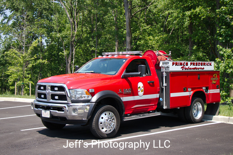Prince Frederick, MD Volunteer Fire Department Brush Truck #2