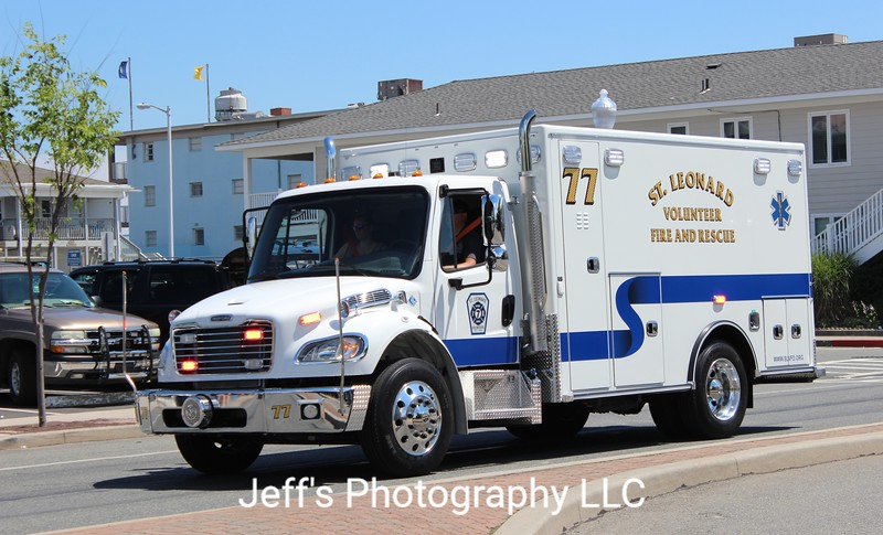St. Leonard, MD Volunteer Fire Department and Rescue Squad Ambulance #77