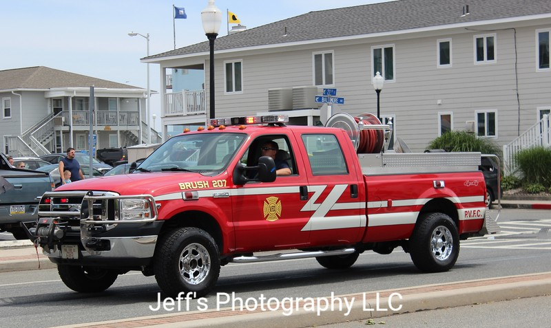 Preston, MD Volunteer Fire Company Brush Truck #207