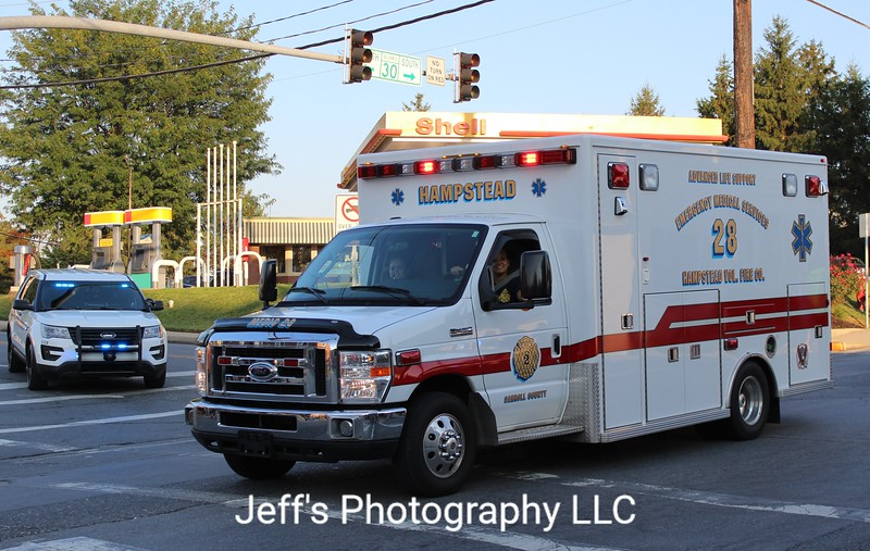 Hampstead, MD Volunteer Fire Company Ambulance #28