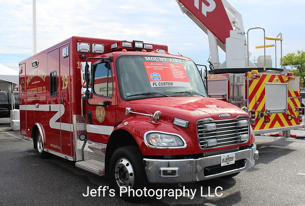 Mount Airy, MD Volunteer Fire Company Ambulance #19