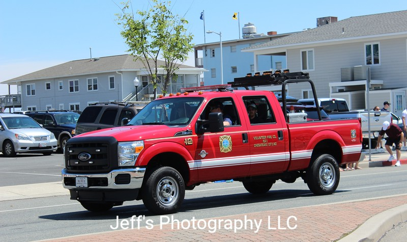 Chesapeake City, MD Volunteer Fire Company Utility #12