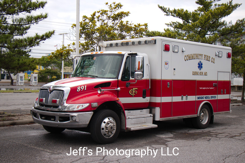 Community Fire Company of Rising Sun, MD Ambulance #891
