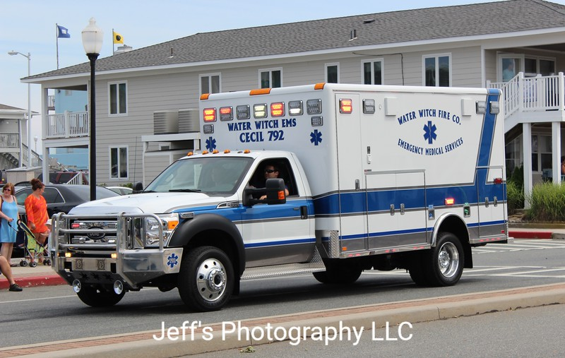 Water Witch Fire Company, Port Deposit, MD Ambulance #792