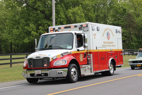 Waldorf, MD Volunteer Fire Department Ambulance #38