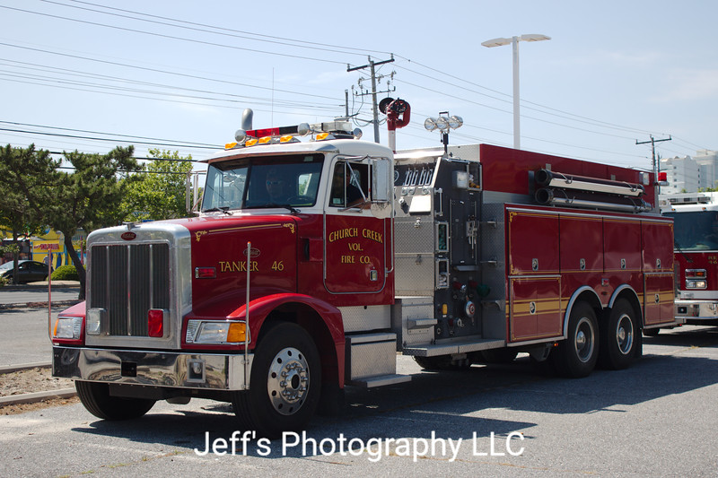 Church Creek, MD Volunteer Fire Company Tanker #46