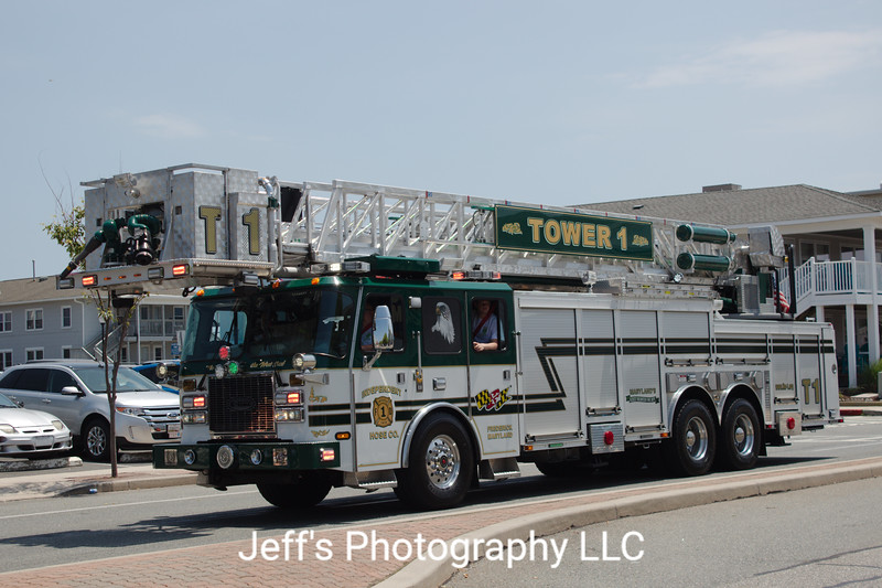 Independent Hose Company #1, Frederick, MD, Tower #1