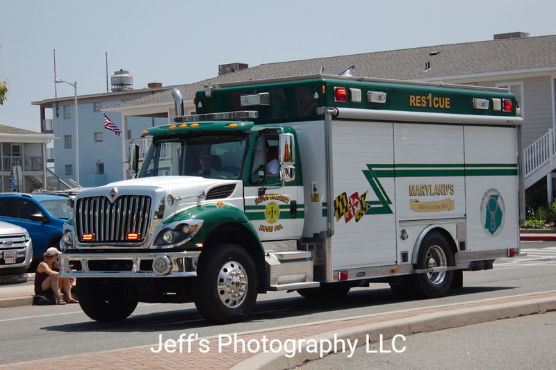 Independent Hose Company #1, Frederick, MD, Rescue Engine #1