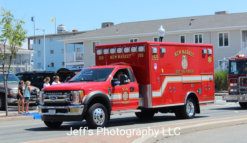New Market, MD Volunteer Fire Company Ambulance #159