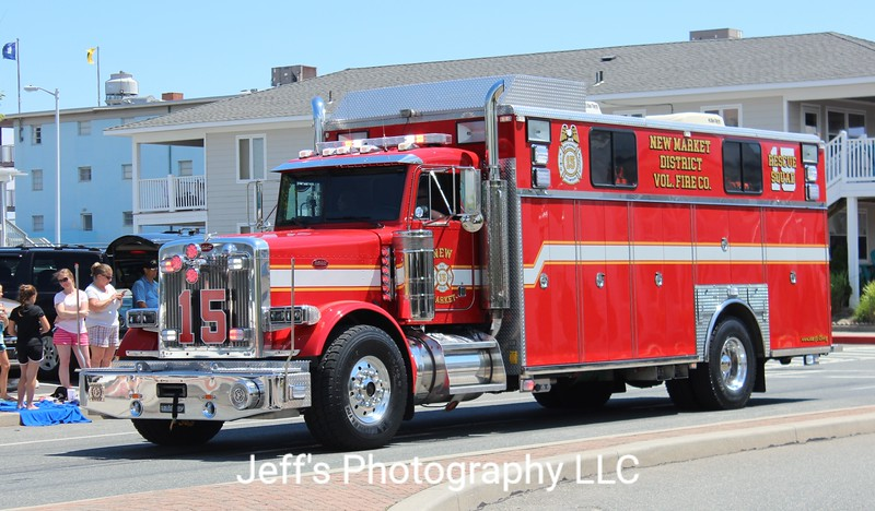 New Market, MD Volunteer Fire Company Rescue Engine #15
