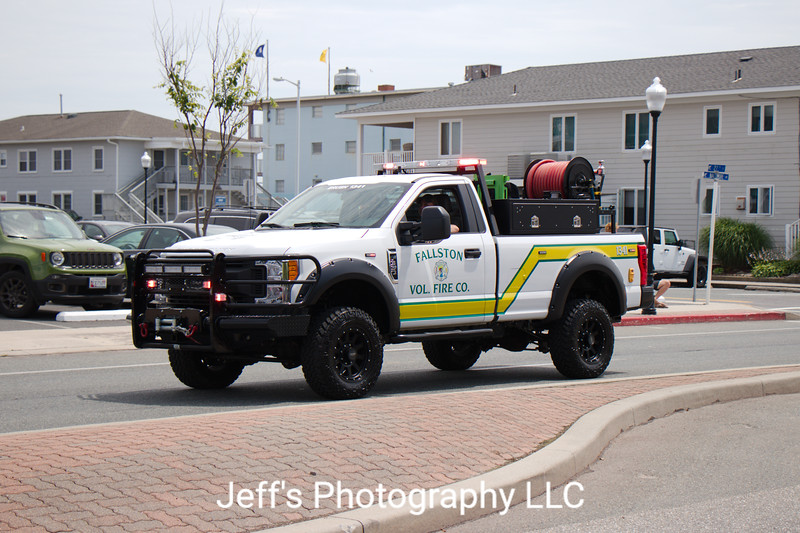 Fallston, MD Volunteer Fire & Ambulance Brush Truck #1341
