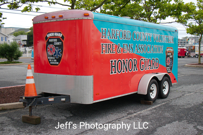 Harford County Volunteer Fire & EMS Foundation, Forest Hill, MD, Honor Guard Trailer