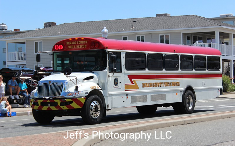 Howard County Fire & Rescue, Columbia, MD, Crew Bus #18