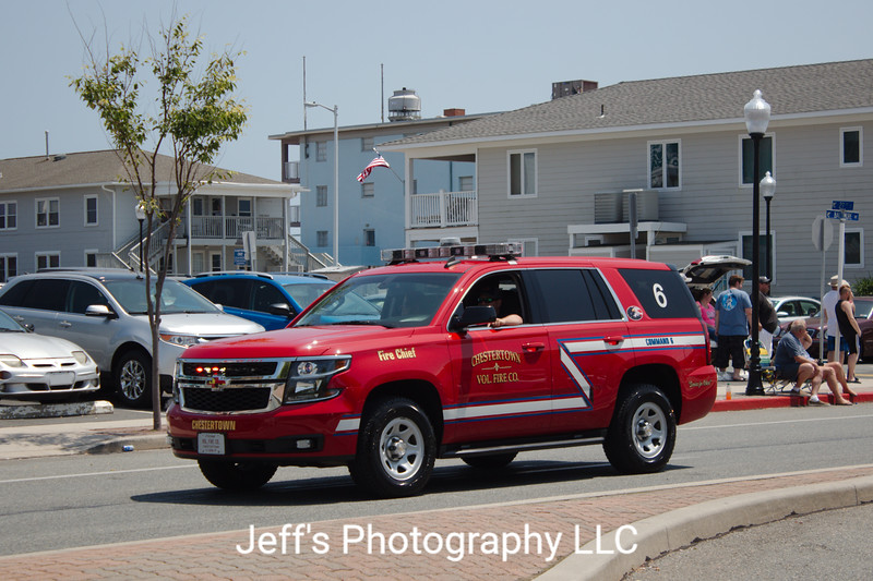 Chestertown, MD Volunteer Fire Company Chief's Car #6