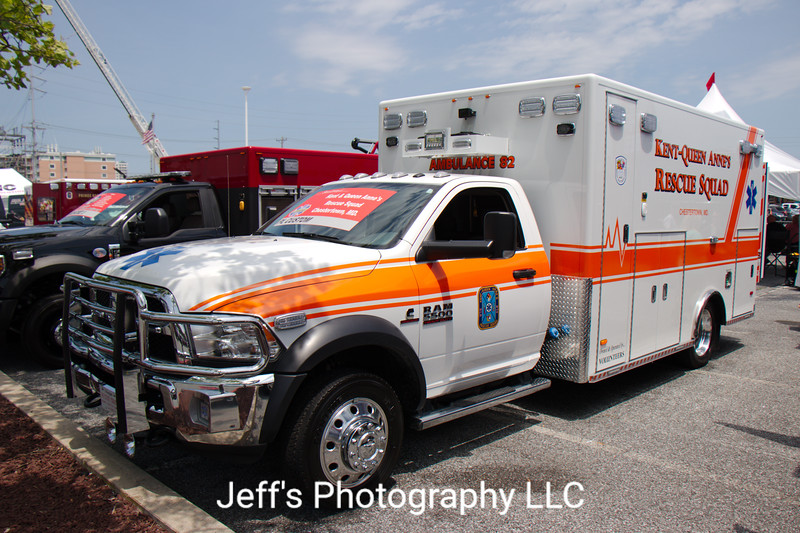 Kent and Queen Anne Rescue Squad, Chestertown, MD, Ambulance #82