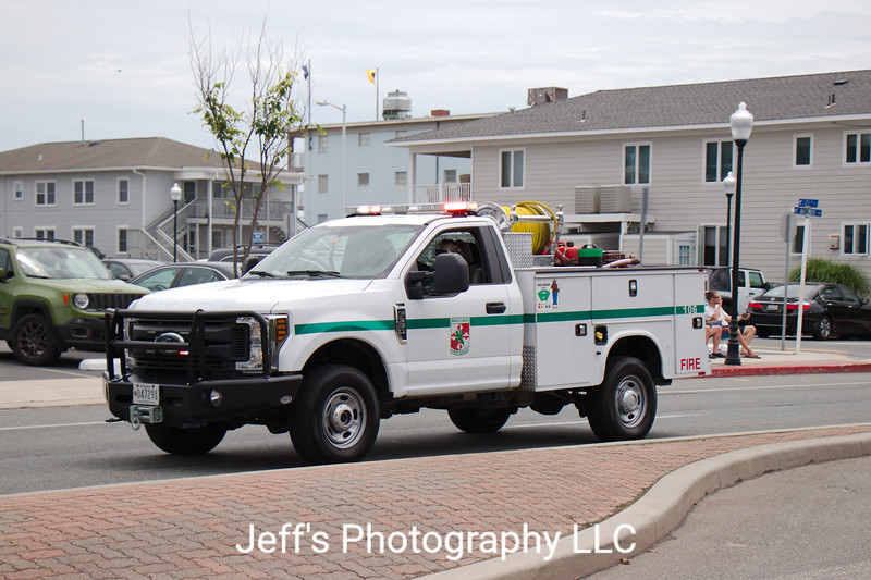 Maryland State Forest Service Fire Department Brush Truck #106