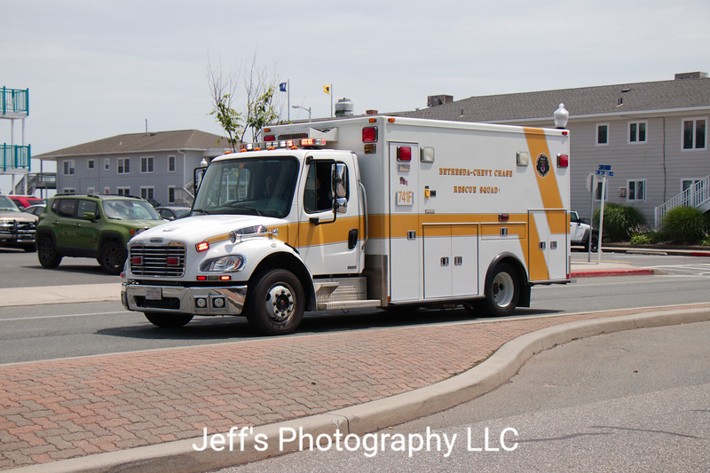 Bethesda - Chevy Chase, MD Rescue Squad Ambulance #741F