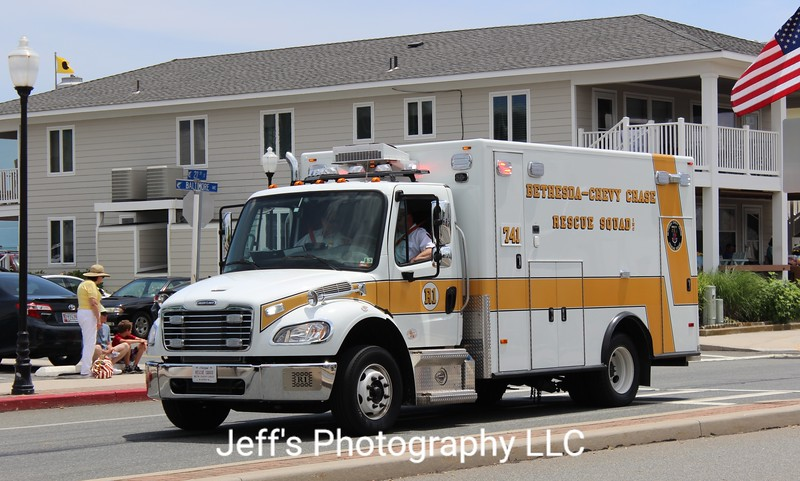 Bethesda - Chevy Chase, MD Rescue Squad Ambulance #741