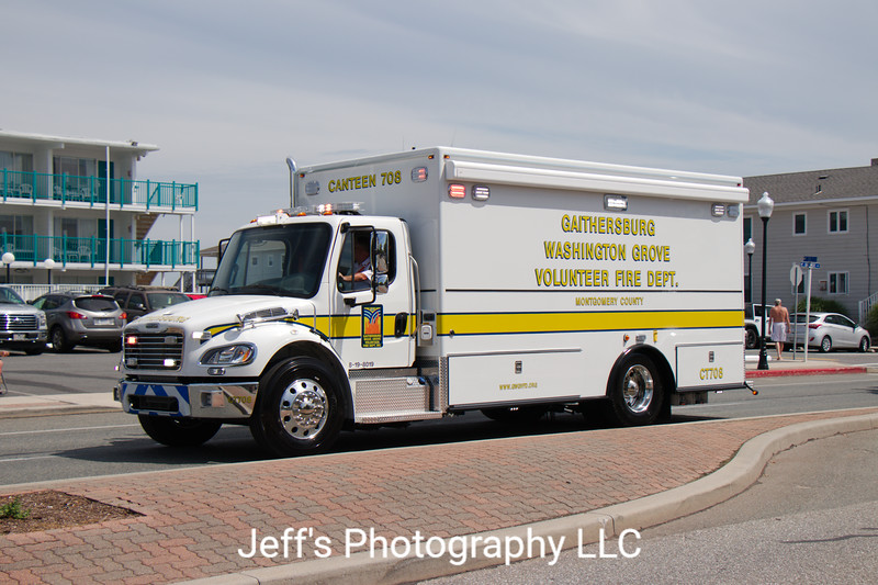 Gaithersburg-Washington Grove, MD Volunteer Fire Department Canteen #CT708