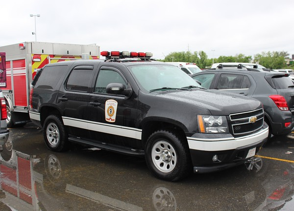 Bladensburg, MD Fire Department Chief's Car