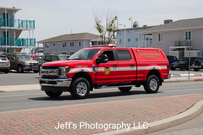 Clinton, MD Volunteer Fire Department Chief's Car #25A