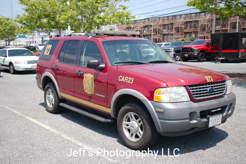 Forestville Volunteer Fire Department, Upper Marlboro, MD, Car #823