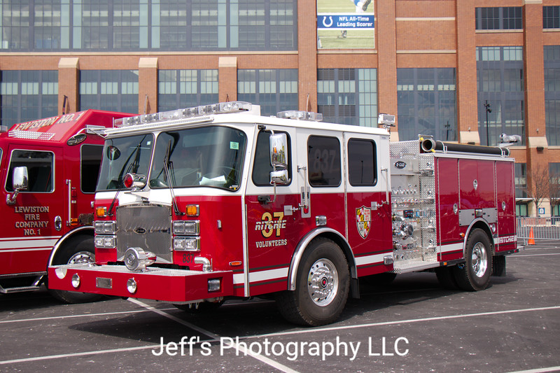 Ritchie Volunteer Fire Department, Walker Mill, MD, Pumper #37