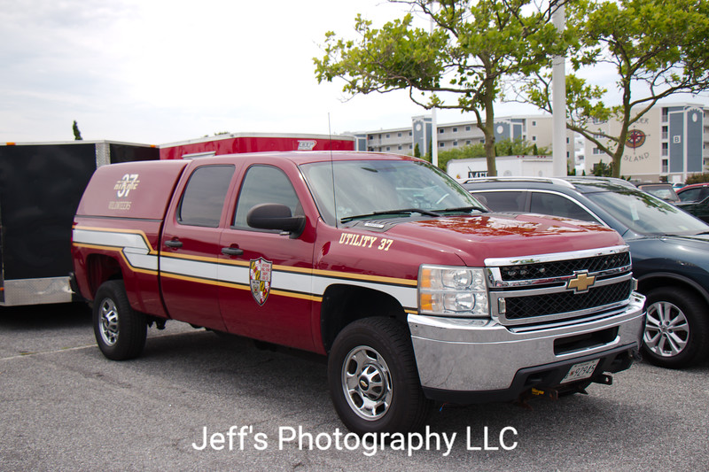 Ritchie Volunteer Fire Department, Walker Mill, MD, Utility #37