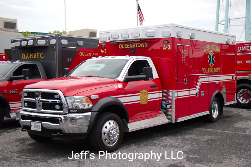 Queenstown, MD Volunteer Fire Company Ambulance #A-3
