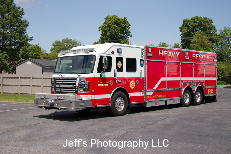 Sudlersville, MD Volunteer Fire Company Rescue Engine #R6