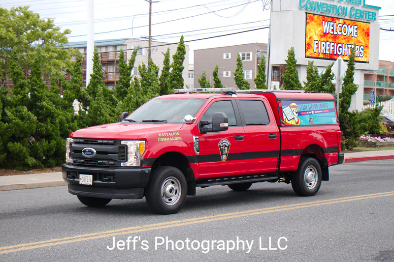 Hagerstown, MD Fire Department Battalion Commander Car