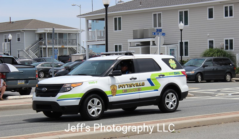 Pittsville, MD Volunteer Fire Department EMS Vehicle #EMS-7