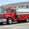 Powellville Volunteer Fire Company, Pittsville, MD Tanker #1 takes part in the Maryland State Firemen's Association Convention Parade in Ocean City, Maryland on 24 June 2015.