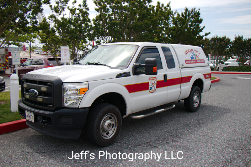 Ocean City, MD Emergency Services Pickup Truck #EM-2