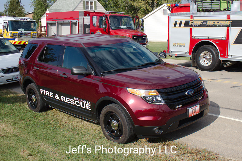 Mappaville, MO Fire Protection District Chief's Car #6700