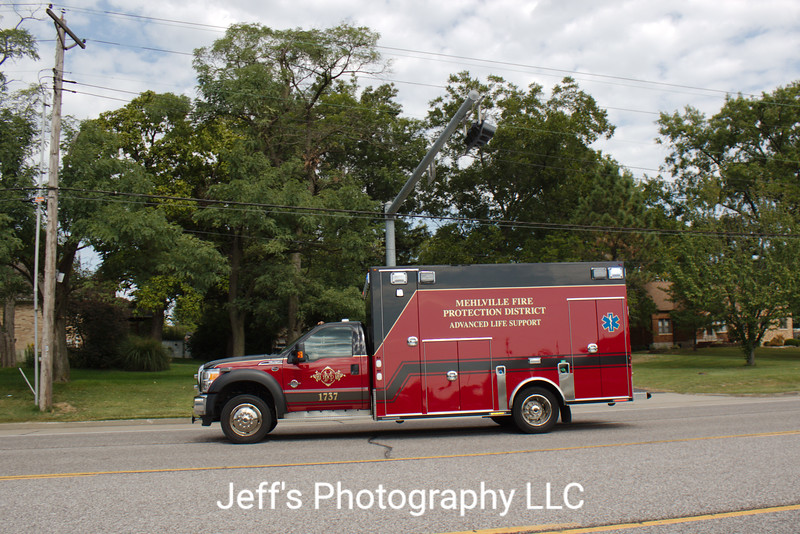 Mehlville Fire Protection District, St. Louis, MO, Ambulance #1737
