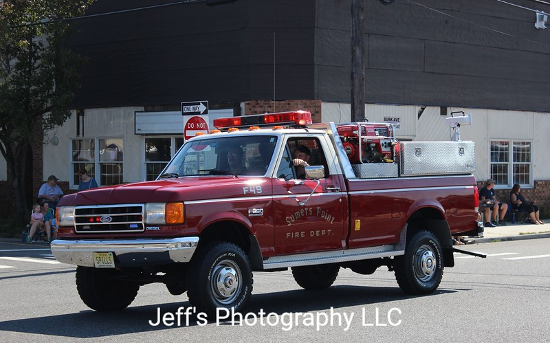 Somers Point, NJ Fire Department Brush Truck #F49