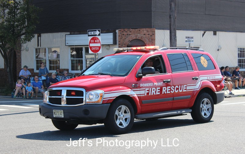 Somers Point, NJ Fire Department Chief's Car