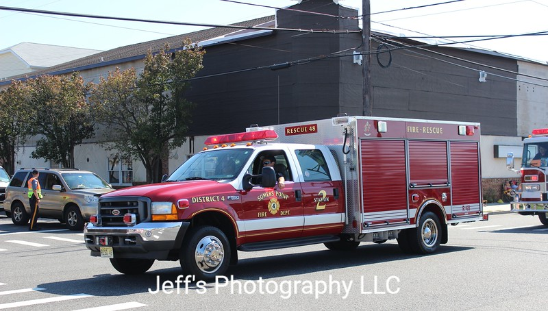Somers Point, NJ Fire Department Rescue Engine #R48