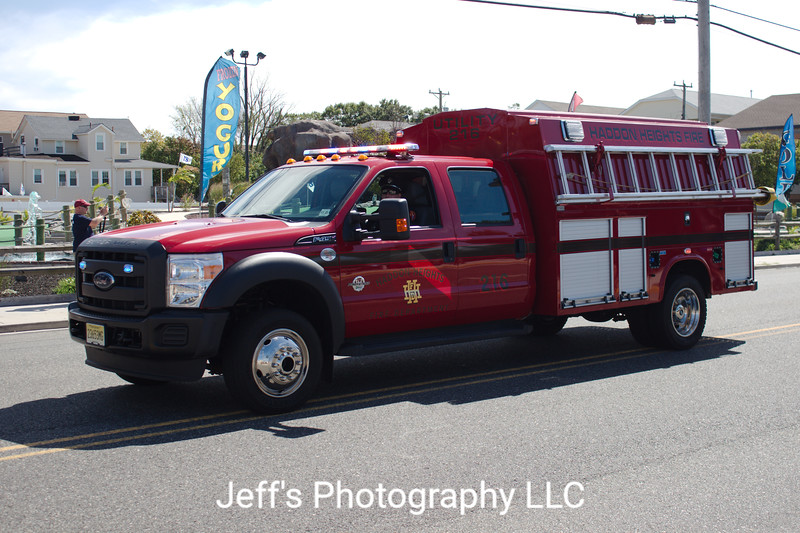 Haddon Heights, NJ Fire Department Utility #216