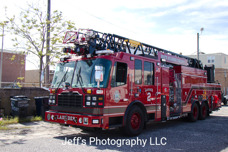 North Wildwood, NJ Fire Department Ladder #2