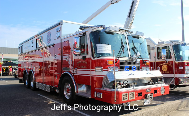 Forest Grove Volunteer Fire Company, Vineland, NJ Rescue Engine #43-58