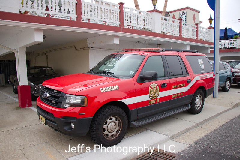 Hightstown, NJ Engine Co. No. 1 Chief's Car #41