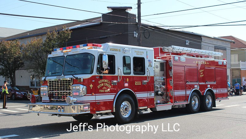 Hopewell-Stow Creek Fire Department, Bridgeton, NJ Pumper #2111
