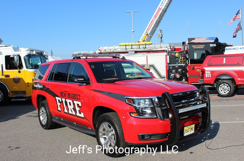 New Market Volunteer Fire Co. #1, Piscataway, NJ, Chief's Car
