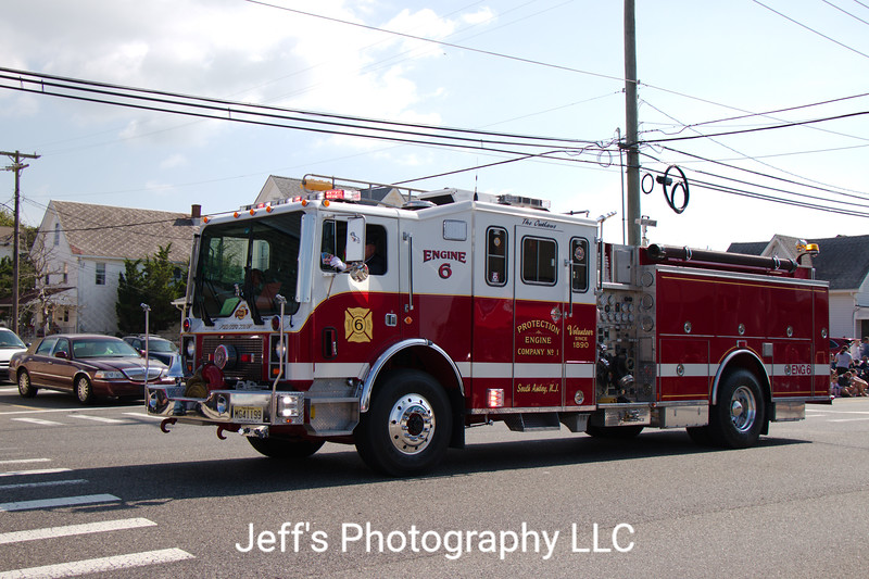 Protection Engine Company No. 1 - South Amboy, NJ Fire Department Pumper #6