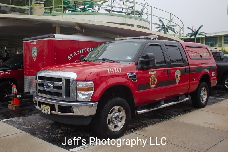 Manitou Park Fire Company, Toms River, NJ Chief's Car #1810